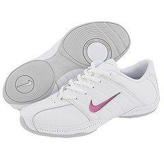 Nike Sideline Cheer Women's Cheerleading Shoes (5.5, White/White)