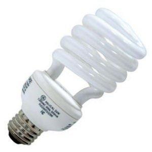 4 pk. GE energy smart CFL 20 Watt Spiral Daylight Bulbs