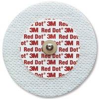 3M-9641 Electrode EKG/ECG Red Dot Cloth Adult 6cm 50 Per Bag by 3M Part No. 9641
