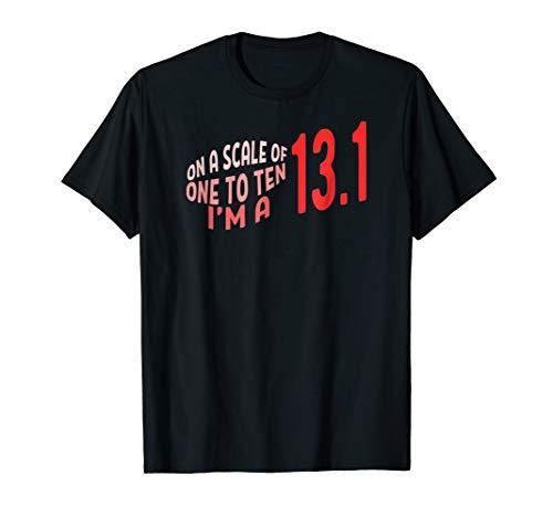 Running Half Marathon T-Shirt Funny Runner Sport Tee -