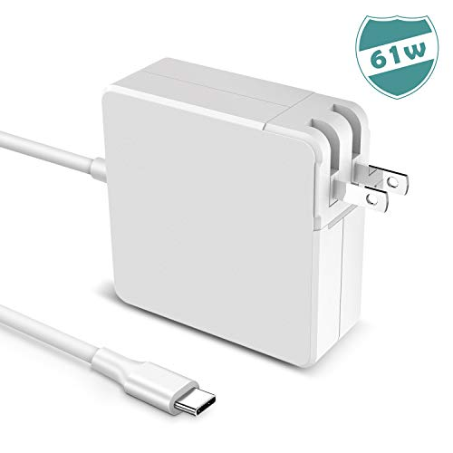 Oriflame Powersave USB C Power Adapter 61w Type C Fast Wall Charger for New MacBook Pro 13-inch 12-inch Computer Laptop and Smartphones - Notebooks Laptop Powerbook