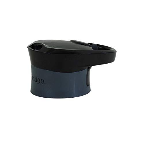 Tapa de botella de agua de repuesto Contigo Autoseal Madison - Negro / Gris