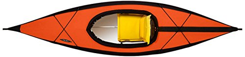 Folbot Recreational Citibot Foldable and Portable Kayak, Orange/Gray, 10-Feet x 34-Inch