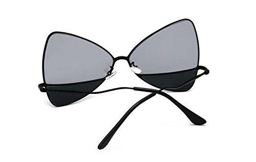 polarisées en Noir lunettes Frêne inspirées soleil vintage style du rond de retro Lennon cercle métallique EzqCwza