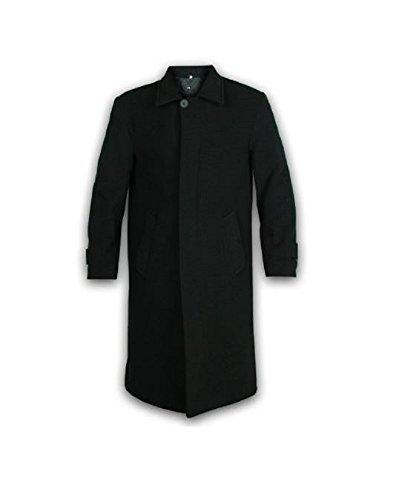 Hombre Lana Y Cachemir Chaquetas Largas Abrigo - Negro, Chica