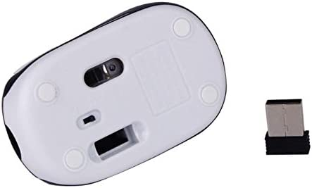 Kiar Mini Small Wireless Mouse for Kids Children 3-7 Years Old Child Size Optical Portable Mini Cordless Mice with USB Receiver for Laptop Computer