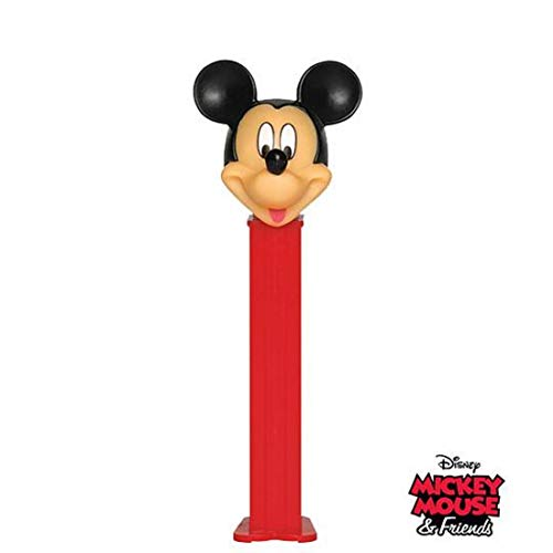 Pez 'Mickey Mouse and Friends' Dispenser with 2 Candy rolls - Mickey