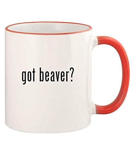 got beaver? - 11oz Colored Rim and