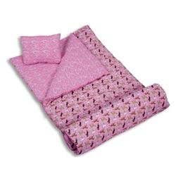 Wildkin Horses in Pink Sleeping Bag, Outdoor Stuffs