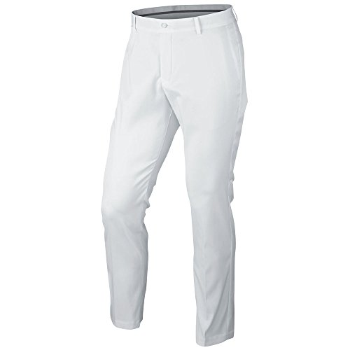 (Nike Golf Closeout Men's Modern Fit Chino Men's Golf Pants (White))