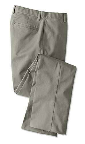 Orvis Men's Wrinkle-Free Cotton Stretch Chinos, Olive, 34W X 31L