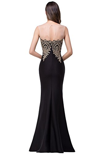 Babyonline-Mermaid-Evening-Dress-for-Women-Formal-Lace-Appliques-Long-Prom-Dress