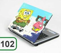 Spongebob Laptop Notebook Sticker Stickers Skin Skins Protective - Spongebob macbook decal