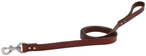 Weaver Leather Briarwood Grandeur Leash, 5/8 x 4-Feet, Brown