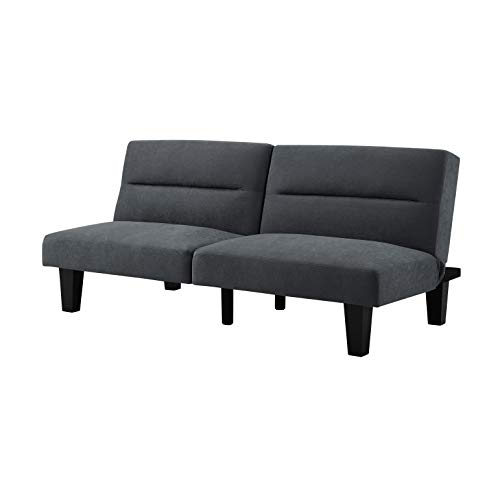 Sofas 2 Go SI-CA-MIA-GR Miami Convertible Sofa  One Size  Grey