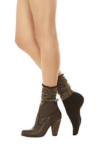 Amazon.com: bootights Floral de la mujer rodilla HI con ...