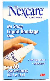 Nexcare No Sting Liquid Bandage Spray 118-03-24pk