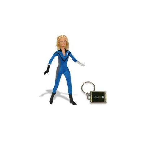 Barbie Collector Famous Friends Invisible Woman Doll (Famous Female Best Friends)