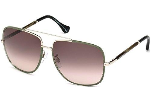 Sunglasses Balenciaga BA 61 BA0061 96Z shiny dark green / gradient