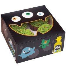 Wilton 415-0133 Halloween Ghoulish Gourmet 4-Cavity Treat -