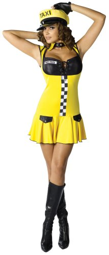 Sexy Cabbie Costumes (Morris Costumes Sexy Cabbie Med Large 10-14)