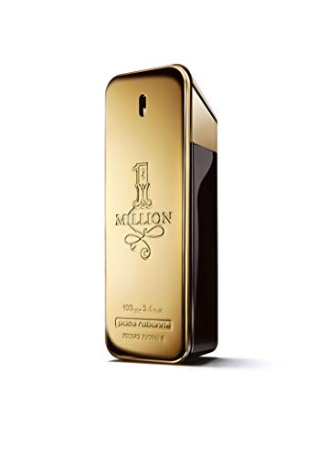 Paco Rabanne 1 Million Eau de Toilette Spray for Men, 3.4 Fluid Ounce