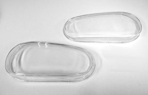 Golf Headlight Replacement - 99-05 VW MK4 GOLF GTI R32 REPLACEMENT GLASS HEADLIGHT LENSES - PAIR