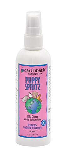 Earthbath All Natural Puppy Deodorizing Spritz, 8-Ounce (Label may vary) ()