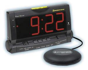 (Clarity Wake Assure Alarm Clock 85Db - Black )