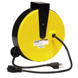 retractable extension cord 25 bayco rr 8125 retractable cable 13023