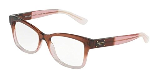 Dolce & Gabbana DG3254 Eyeglass Frames 3060-52 - Bordeaux - Glasses Dolce Gabbana And Pink