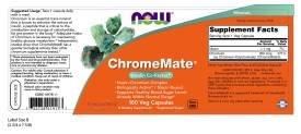 NOW Foods ChromeMate - 180 Capsules