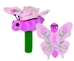 (Winning Edge Designs Breast Cancer Prev. Rose Butterfly Hybrid Head Cover)