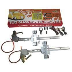 Wholesale 2 Door Flat Power Window Kit U-wire Driver/Passengers, [Windows, Window Motors]