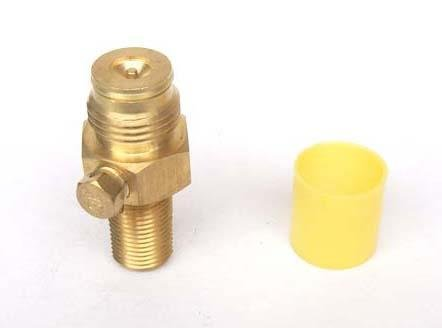 Outdoor Guy Co2 tank Pin Valve Copper Made (no on/off) 12 Oz Co2 Tank Cover