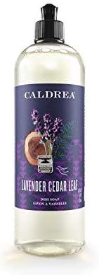 Caldrea Dish Soap, Lavender Cedar Leaf, 16 oz