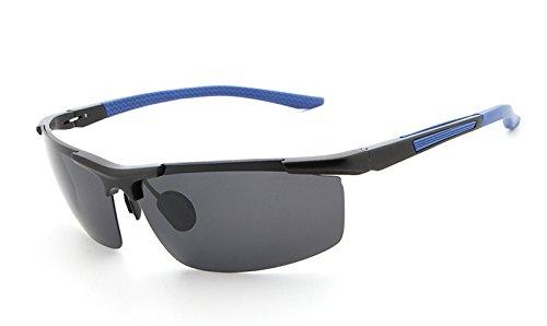 conducen Gafas Vidrios nocturnas Las Black Sol Hombres visión Vidrios la de blue los la Gafas Yumeik Masculinas de Brown Brown de Noche Profesionales polarizadas Color de Sol Que de vtPqwZ7