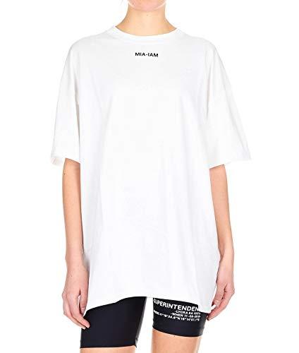 Mia Cotone Ts11bianco Donna T Bianco shirt iam rwBfqr