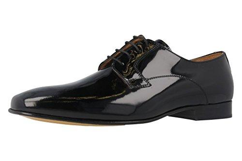 Homme Noir Chaussures G Manz Derby Ago Mali fOxX80