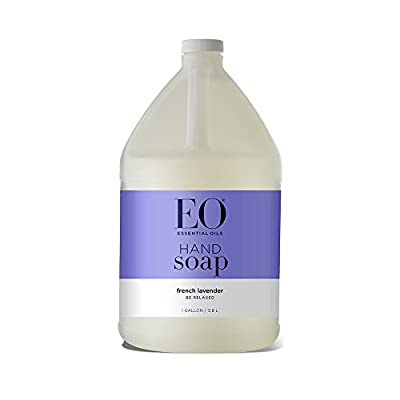 EO Botanical Liquid Hand Soap Refill, French Lavender, 128 Fluid Ounce (1 Gallon)