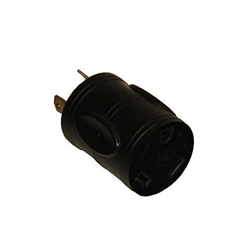 Parkworld 691586 RV 30 AMP Generator Adapter 3-Prong L5-30P Male to TT-30R Female (Adapter)