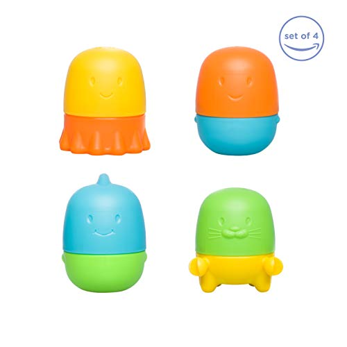 (Ubbi Interchangeable Mold Free Bath Toys for Toddlers and Baby)
