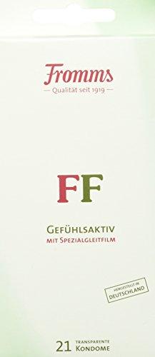 Fromm's FF Kondome transparent mit Spezialgleitfilm 21er Packung, 21 Kondome