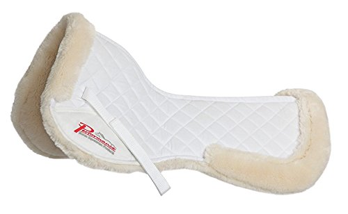 Shires Performance SupaFleece Half Pad - Pony/Cob-Natural Pony/Cob Shires Equestrian Products