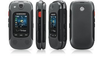 Samsung Convoy 3, Gray Flip Cell Phone Rugged Military Specs (Verizon Wireless No Contract)