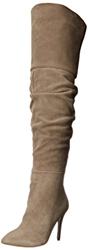 Chinese the Slouch Kristin Boot Women's Knee Laundry Velvet Calissa Cavallari Over Grey rF8ra