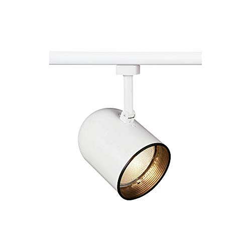 Juno Lighting R502B-WH Trac-Lites Round Back Cylinder Line Voltage PAR30 Lamp Holder, White