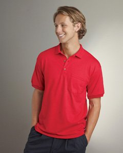 Gildan 5.6 oz. Ultra Blend 50/50 Jersey Polo with Pocket