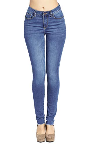 Blue Age Women's Butt-Lifting Skinny Jeans Denim High Rise(JP1096A_MD_5)