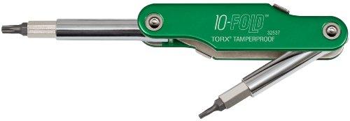 10-Fold Torx Tamperproof Screwdriver and Nut Driver Klein Tools - T20 Driver Torx